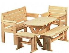 Мебель разборная из сосны