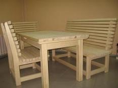 Мебель из сосны «ангарской»