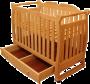 Детская кроватка из массива кедра